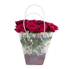 Emme Florist Clear Bag Vania
