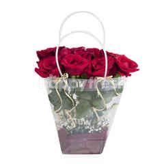 Emme Florist Clear Bag Vania