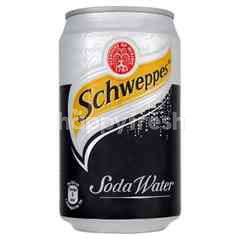 Schweppes Soda Water Can