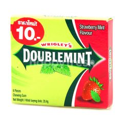 Wrigley's Doublemint Strawberry Mint Gum