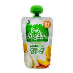 Only Organic Mango, Yogurt and Brekkie Puree