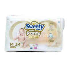 Sweety Pantz Gold Ukuran M