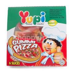 Yupi Gummy Pizza Candies (6 slices)