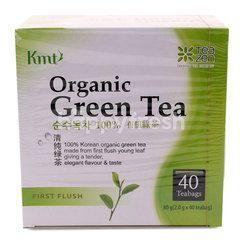 Kmt Organic Green Tea (40 Tea Bags)