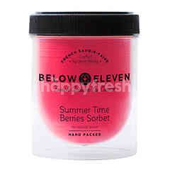 บีโลว เอเลฟเว่น บีโลว อีเลฟเว่น ไอศกรีมกระปุก รสเบอร์รี่ ซอร์เบท 380 มล.