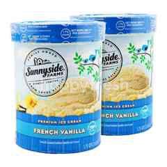 Sunnyside Farms Premium Ice Cream French Vanilla 1.65L Twinpack