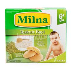 Milna Baby Biscuits with Brown Mung Bean for 6 Months+