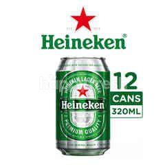 Heineken Bir Lager Internasional Kaleng 12 pak