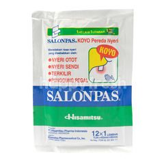 Salonpas Patch Pain Relief