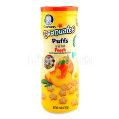 Gerber Graduates Puffs Peach