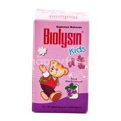 Biolysin Food Supplement for Children Blackcurrant (30 tablets)