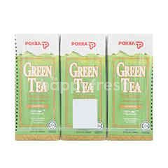 Pokka Green Tea Pack Drinks (6 Packs)