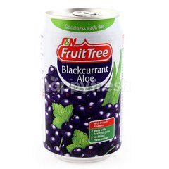 F&N Fruit Tree Blackcurrant Aloe Drink