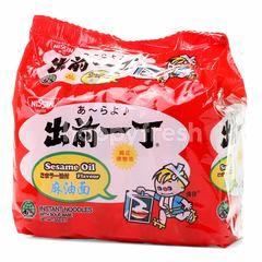 Nissin Sesame Oil Flavour Instant Noodles