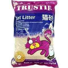 Trustie Super Premium Cat Sand (Baby Powder) 10L (8.1Kg)