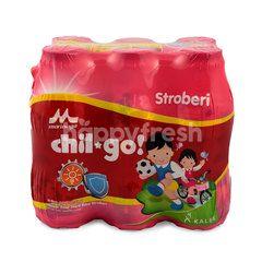 Morinaga Chil Go Strawbery Milk Drinks 1-12 Years