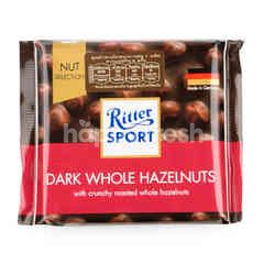 Ritter Sport Dark Chocolate Whole Hazelnuts