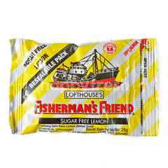 Fisherman's Friend Sugar Free Candy Lemon
