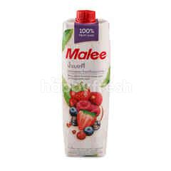 Malee 100% Berry Juice Mixed Red Grape Apple And Pomegranate Juice