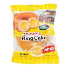 Sharon Custard Japanese Ring Cake