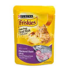 Friskies Mackerel Feast Adult Cat Food