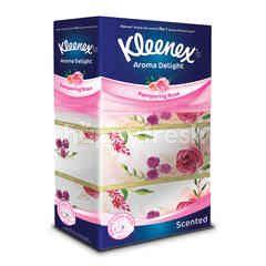 Kleenex Scented Rose Essential Oil Facial Tissue
