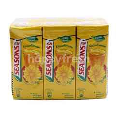 F&N Seasons Less Sweet Chrysanthemum Tea Drink (6 Packs)