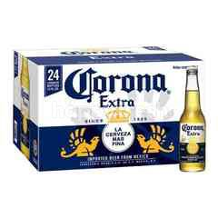 Corona Extra Lager Beer Bottle (355ml x 24)