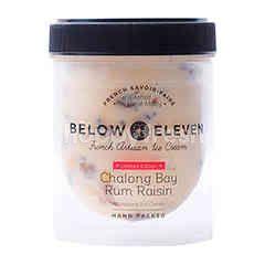 บีโลว เอเลฟเว่น ไอศกรีมกระปุก รสรัมลูกเกด 380 มล.