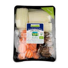 Natural & Premium Food Organic Soup Set Wax Guard