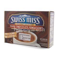 Swiss Miss Indulgent Collection Sensation Powdered Dark Chocolate Milk