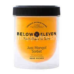 Below Eleven Ice Cream Pint Just Mango! Sorbet 380 ml