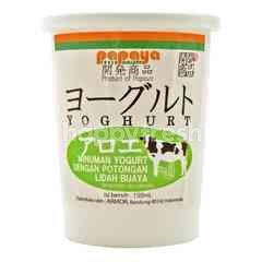 Kaihatsu Yogurt dengan Potongan Lidah Buaya