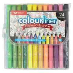 Unicorn Fine 0.5Mm Colour Pen (24 Colours)