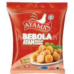 Ayamas Breaded Chicken Meatballs