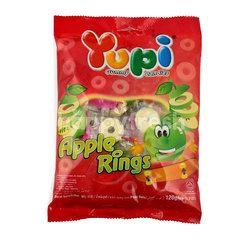 Yupi Apple Rings Gummy Candies