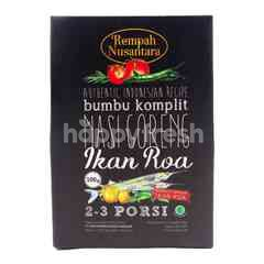 Rempah Nusantara Fried Fries Complete Seasoning Fish Roa