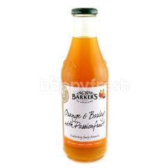Barkers Orange & Barley With Passionfruit