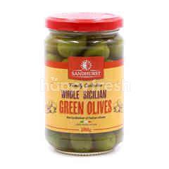Sandhurst Whole Sicilian Green Olives