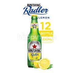 Bintang Radler Bir Rasa Lemon Botol 12 Packs