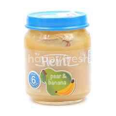Heinz Pureed - Pear & Banana