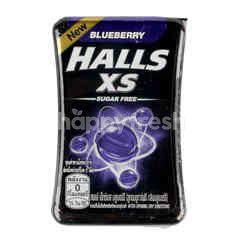 Halls Xs Sugar Free Blueberry Sweets
