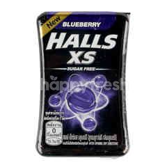Halls Xs Sugar Free Blueberry Sweets