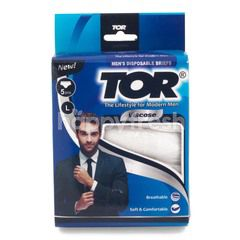 TOR Disposable Briefs L - Viscose