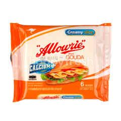 Allowrie Gouda Cheese Slice Product