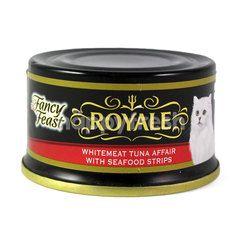 Purina Fancy Feast Royale Tuna Whitemeat Tuna Affair With Seafood Stripes