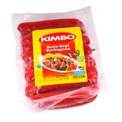 Kimbo Kitchen Beef Sausage Multipurpose
