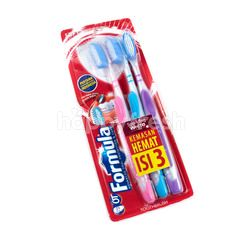 Formula Silver Protector System Medium Toothbrush