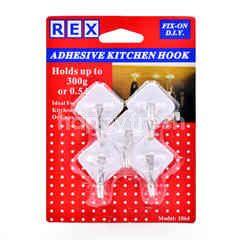 Rex Adhesive Kitchen Hook (5 Pieces)
