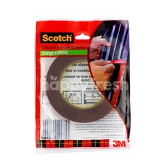 Scotch Exterior Mounting Tape 10Mm X 8M Super Strong